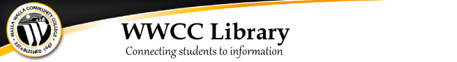 WWCC Library link to home page