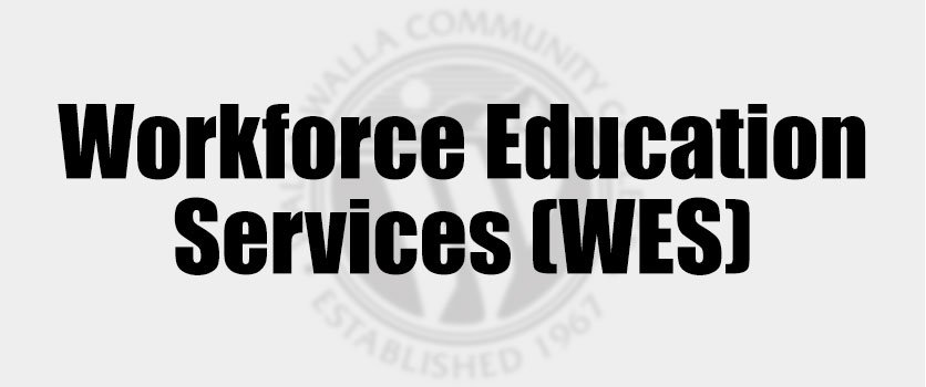 Workforce Education Services (WES) Plaque